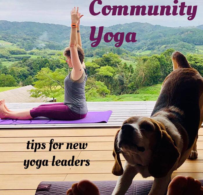 Teaching Community Yoga, a book